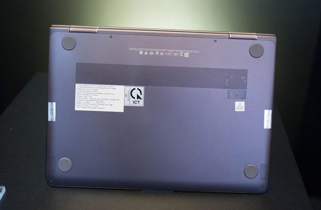 Spectre x360 được trang bị đến 4 loa Bang & Olufsen