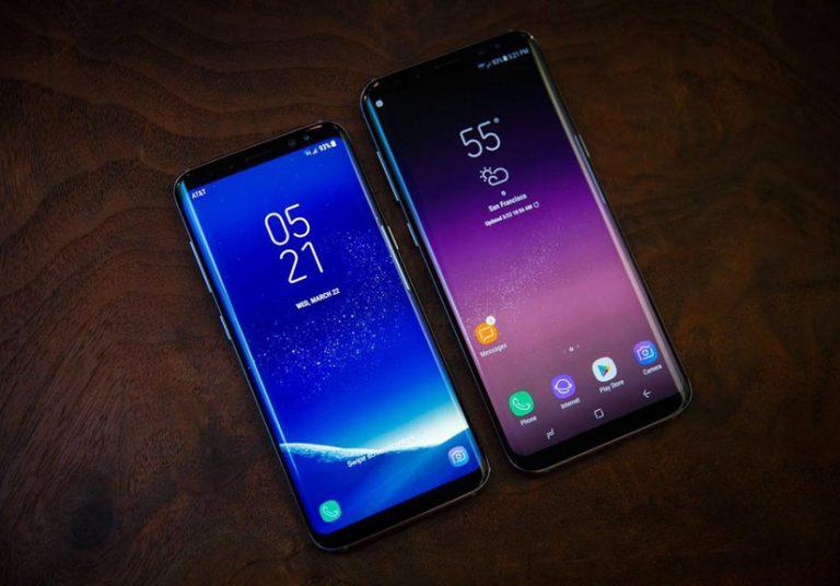 Vẻ đẹp của Galaxy S8 và Galaxy S8+ đi cùng hiệu năng cao.