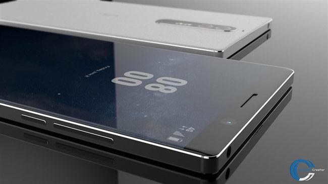 Mặt trước của Concept Nokia 8