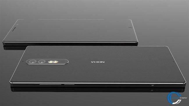 Mặt sau của Concept Nokia 8