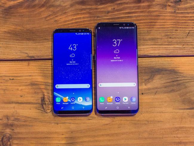 Màn hình của Galaxy S8 và S8+ lớn hơn so với các smartphone thông thường