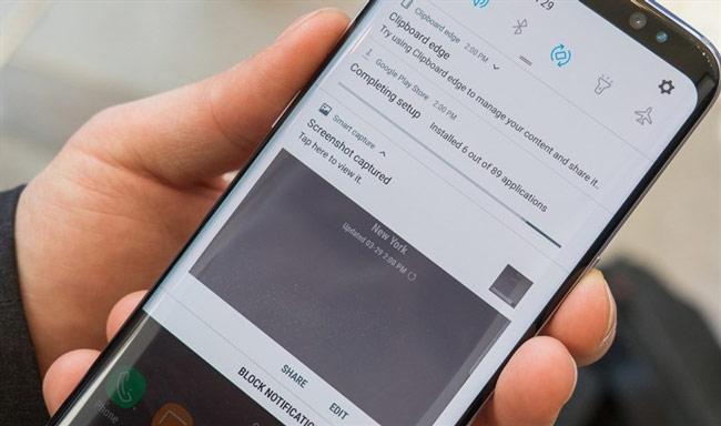 thiết lập cần phải biết khi sử dụng Galaxy S8 và S8 Plus