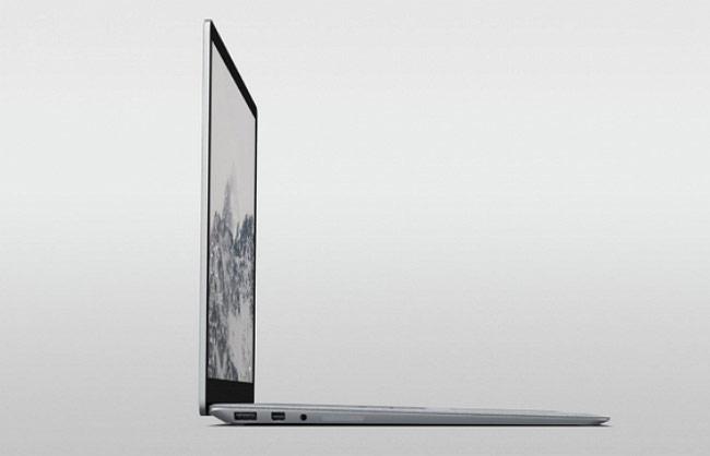 Surface Laptop không dùng cổng USB-Type C