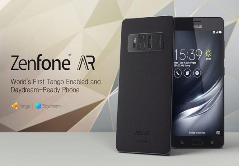 Asus ZenFone AR smartphone đầu tiên hỗ trợ hai nền tảng AR và VR