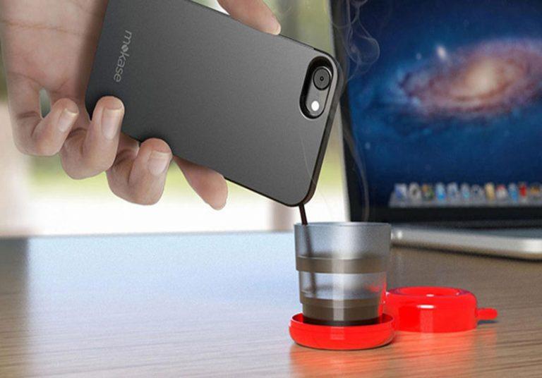 Biến iPhone thành máy pha cà phê