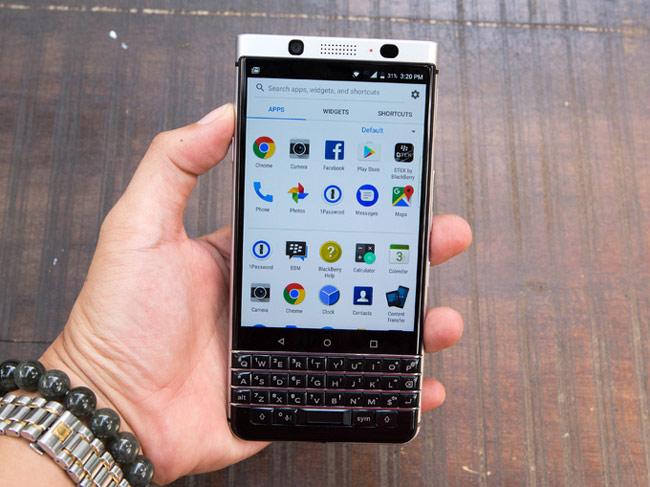 KeyOne được xem là mẫu điện thoại có bàn phím QWERTY vật lý mạnh nhất của BlackBerry hiện nay