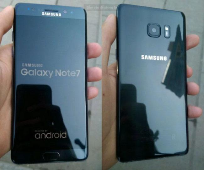 Galaxy Note 7 tân trang lại lộ ảnh thực tế