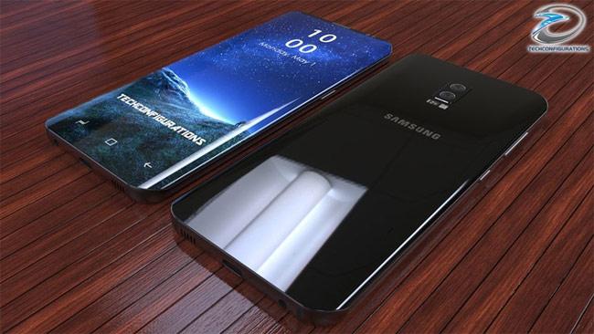 Galaxy S8 được trang bị màn hình vô cực