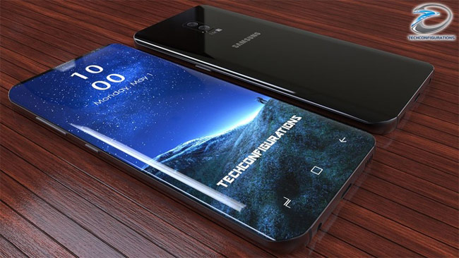 Galaxy S9 có màn hình AMOLED Infinity Display 4K kích cỡ 5,8 inch, cùng tỷ lệ 18,5:9 với Galaxy S8