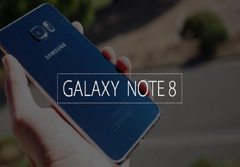 Lộ diện mặt trước của Galaxy Note 8 viền siêu mỏng