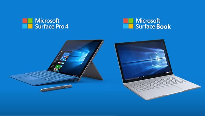 2 mẫu tablet Surface mới nhất được Microsoft ra mắt cách đây 17 tháng