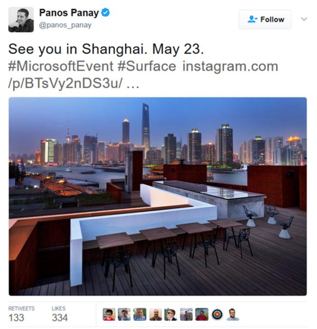 Microsoft tổ chức sự kiện ngày 23/5, sẽ có Surface mới