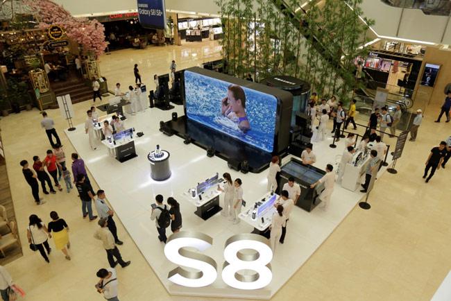 Galaxy Studio mang đến cho hàng nghìn lượt khách cơ hội trải nghiệm công nghệ mới mẻ