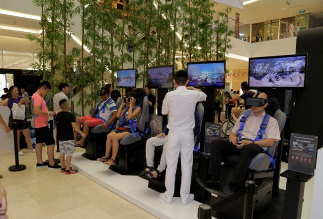 Góc trải nghiệm thực tế ảo Gear VR