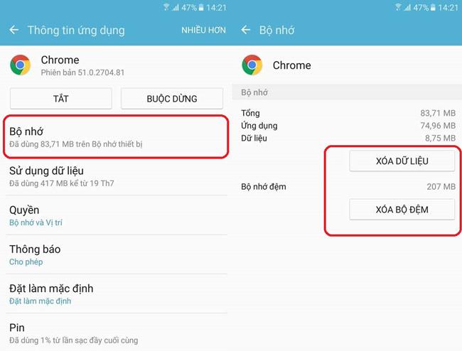 Cách khắc phục trình duyệt web báo điện thoại bị lỗi do dính virus