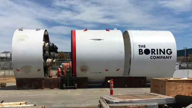 Đôi nét về Boring Company & ý tưởng đào hầm từ Elon Musk