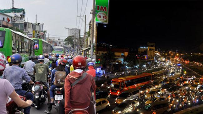 Kẹt xe ở Việt Nam