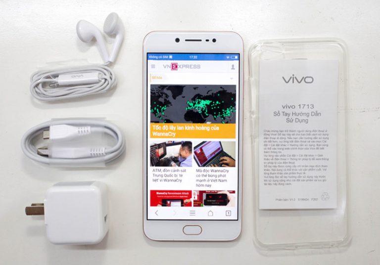 Vivo V5s camera selfie 20 'chấm' giá 7 triệu đồng