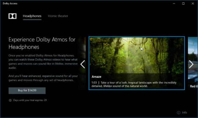Cách kích hoạt âm thanh Dolby Atmos trên Windows 10
