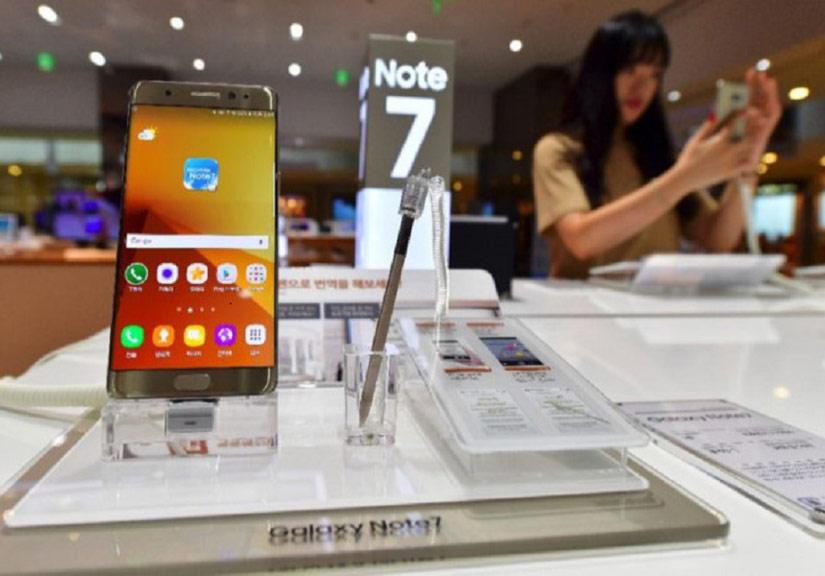 Galaxy Note 7 tân trang mở bán vào đầu tháng 7