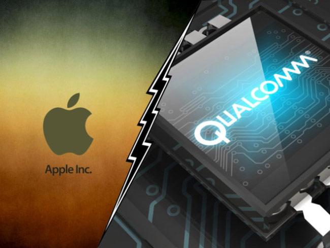 Qualcomm trách Apple bội nghĩa