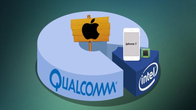 iPhone 7 và 7 Plus dùng chip Intel từng bị phàn nàn