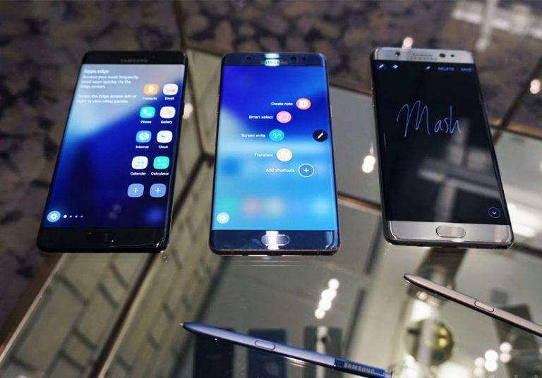 Lộ điểm hiệu năng Galaxy Note 7 tân trang