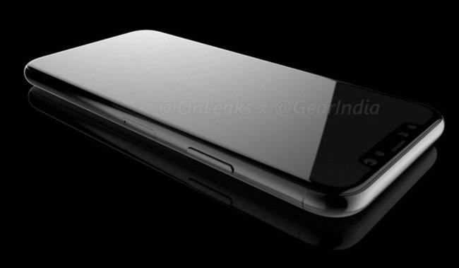 Khung thiết bị của iPhone 8 sử dụng thép không rỉ