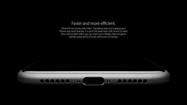 iPhone 8 sử dụng loại tai nghe Air Pod