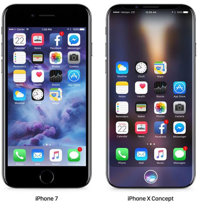 Apple dự kiến ra mắt iPhone 8 vào tháng 9