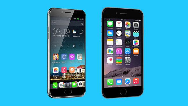 Triều Tiên tung smartphone giống hệt iPhone
