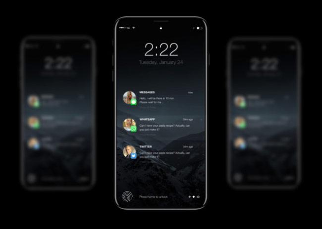 iPhone 8 có thể được thiết kế