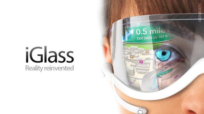 iGlass là sản phẩm đang được Apple thai nghén
