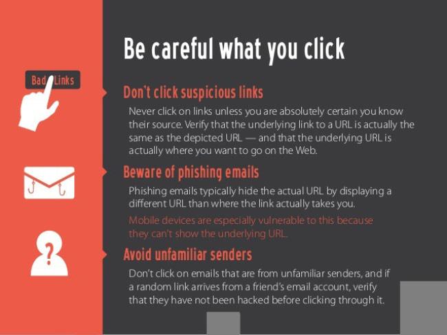 Hãy cẩn thận với mỗi cú click chuột