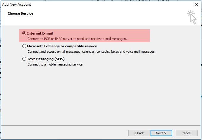 Cấu hình tài khoản Gmail vào Outlook