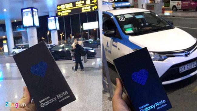 Chiếc Galaxy Note FE về Việt Nam trước ngày bán