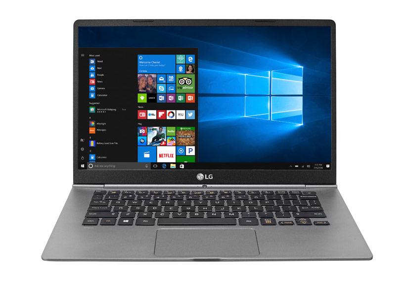 LG Gram là một trong những Ultrabook mỏng, nhẹ nhất trên thị trường. Ảnh: LG.