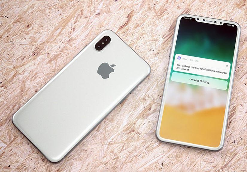 iPhone 8 sẽ sở hữu camera kép. Ảnh: Theverge