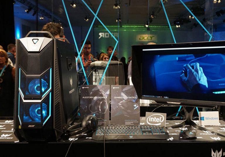 Desktop chơi game với chip core i9 18 nhân từ Acer