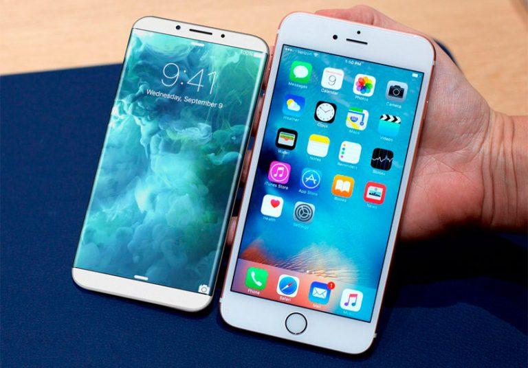 iPhone 8 có thể nhận biết khi mắt nhìn vào màn hình