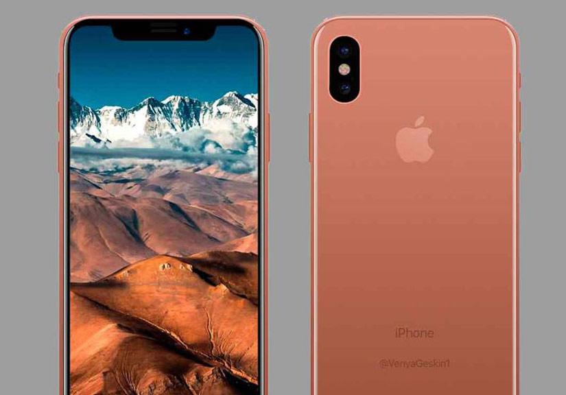 iPhone 8 màu mới có tên gọi Blush Gold