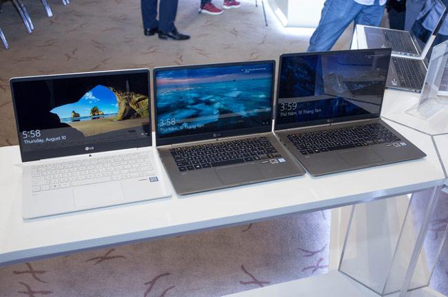 LG Gram sẽ có ba phiên bản kích thước màn hình