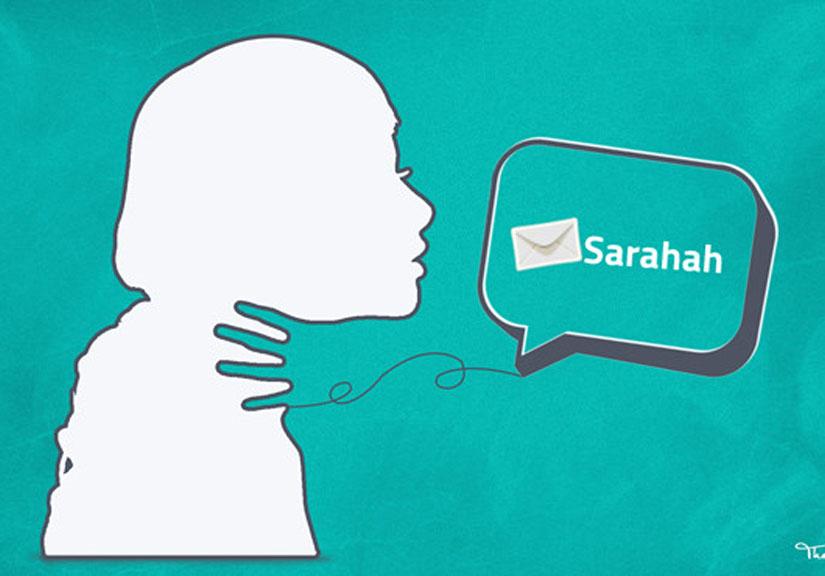 Ứng dụng Sarahah