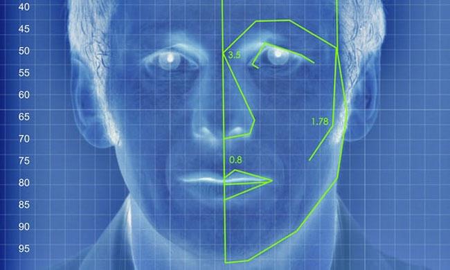 Minh hoạ về công nghệ phân tích khuôn mặt trong thử nghiệm