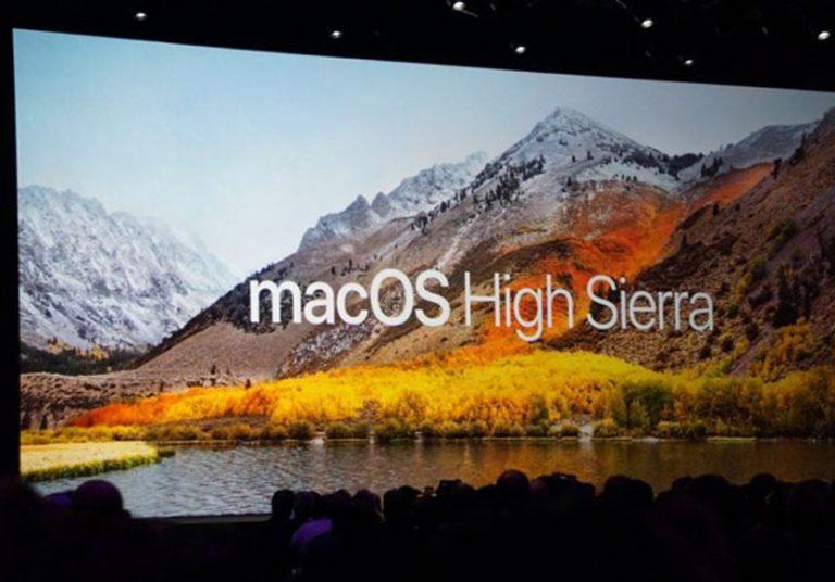 Apple phát hành macOS 10.13 High Sierra