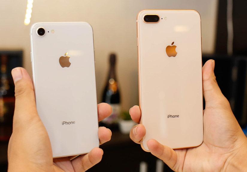 Bộ đôi iPhone 8 và 8 Plus đầu tiên về Việt Nam