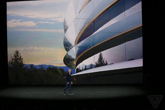 Tim Cook giới thiệu về Apple Park