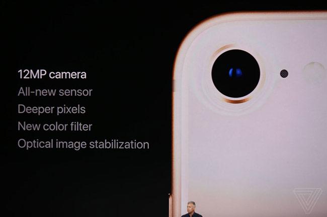 Camera chống rung quang học cho iPhone 8