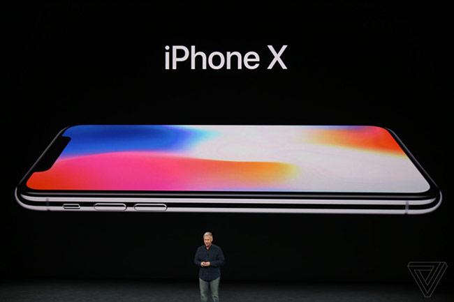 iPhone X ra mắt thị trường