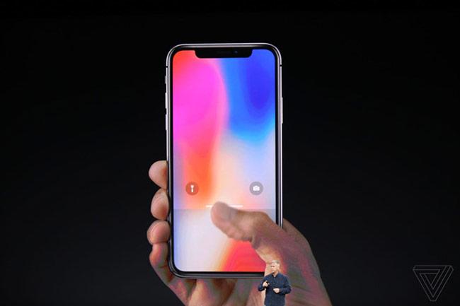 iPhone X không có nút Home